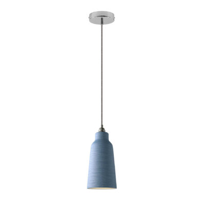 Висяща лампа с керамичен абажур (+цветове)