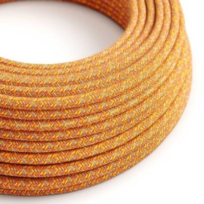 Кръгъл текстилен кабел Indian Summer
