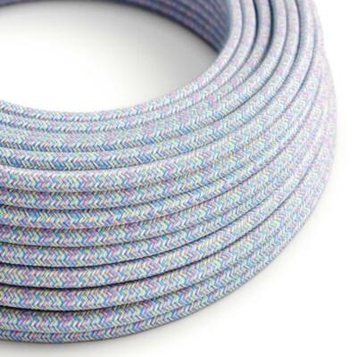 Кръгъл текстилен кабел Lollipop