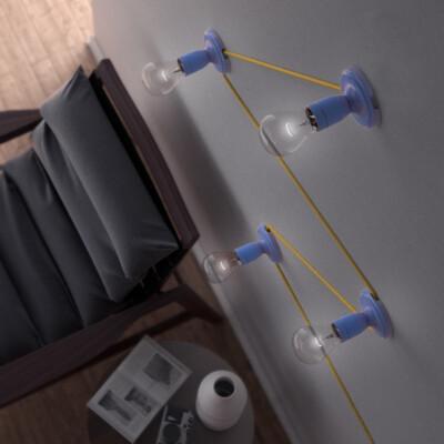 Текстилните кабели в интериора